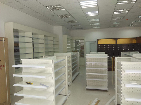 药店货架的材质都有哪些?选择哪种材质的货架比较好?