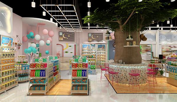母婴店设计和摆放货架的技巧是什么
