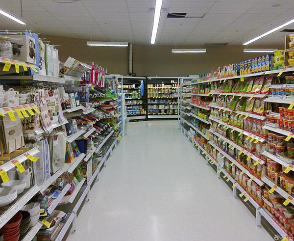 超市货架摆放的这些小技巧,可以让你的超市更好看