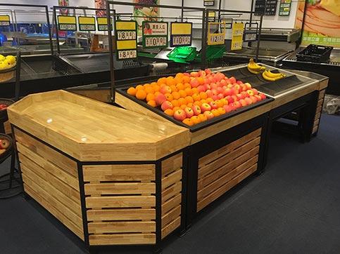 蔬菜水果展示货架016