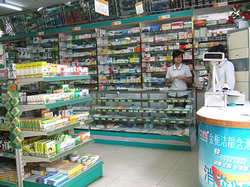 药店货架陈列中明显的误区和注意事项