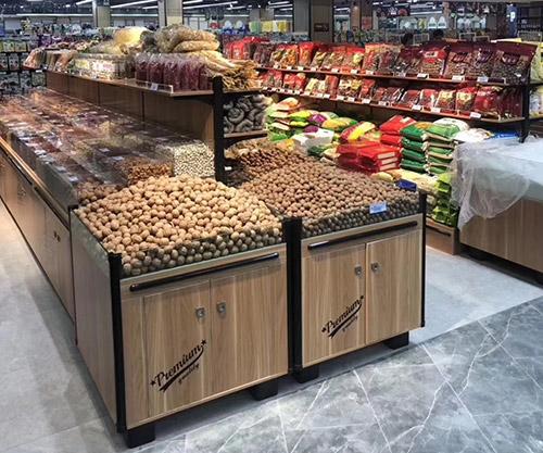超市散装瓜子货架款式有哪些