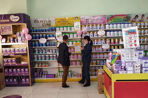 母婴店奶粉货架要什么样的好