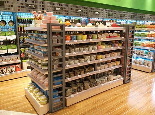 小超市货架便利店货架用什么材质的比较好