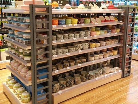 小超市货架便利店货架用什么材质的比较好?