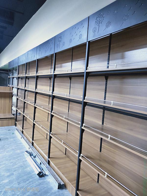 超市单面货架案例