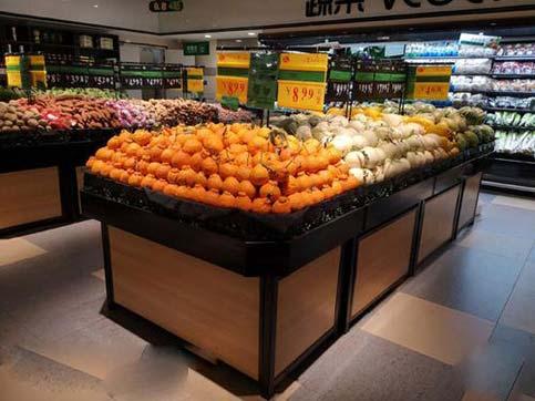 怎么选购超市果蔬架