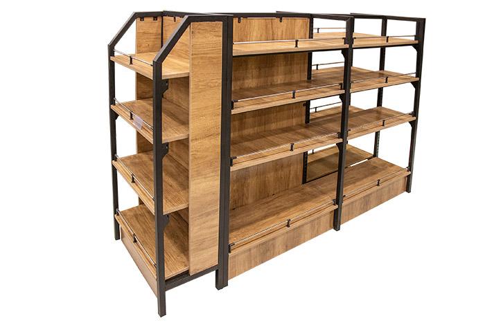 定做钢木货架