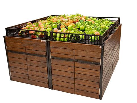 果蔬生鲜超市货架