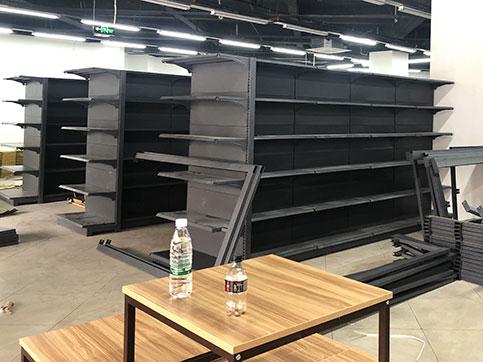 超市货架怎么摆放比较好?