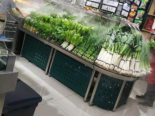 超市生鲜喷雾货架哪款比较好
