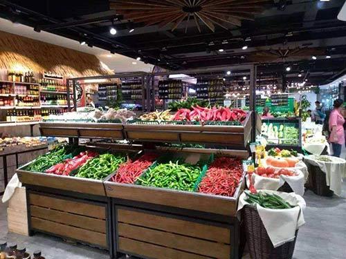 水果架蔬菜货架都有什么款式