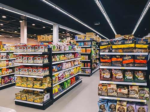 超市货架食品陈列怎么做更好