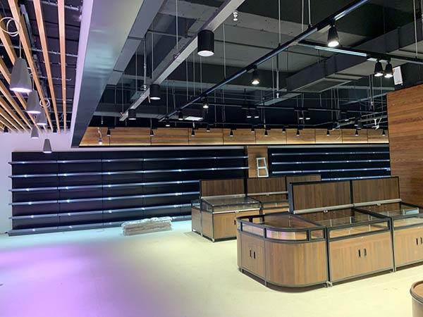 超市零食散货货架案例