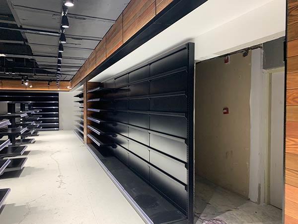 超市钢制单面货架案例