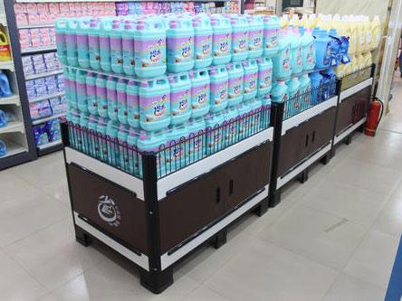 超市便利店货架上货物陈列的几个必知的知识