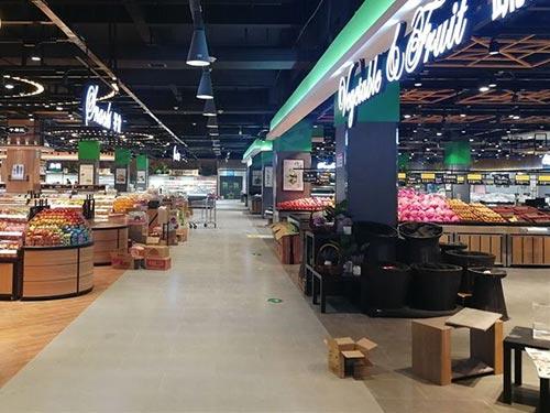 超市货架如何合理使用和摆放