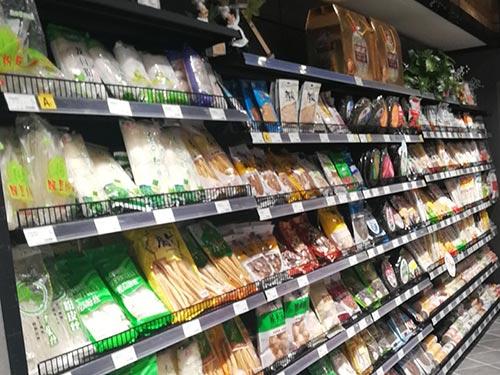 单面铁质超市货架