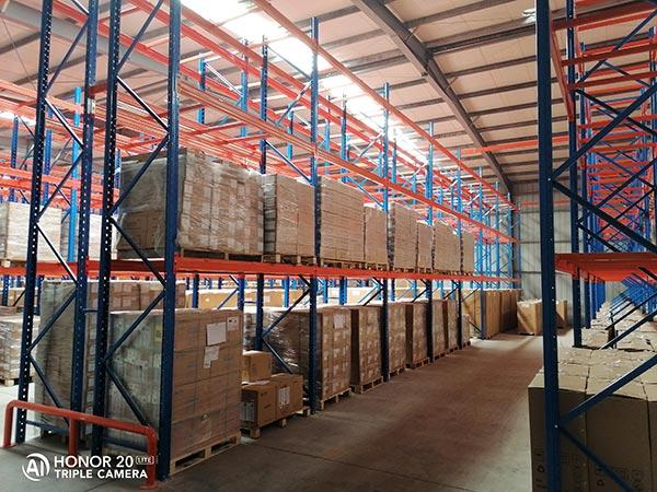 仓储货架安装案例