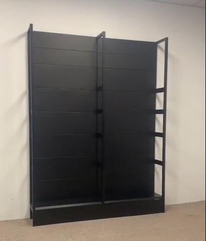 便利店货架单面靠墙货架安装详细步骤(图文)