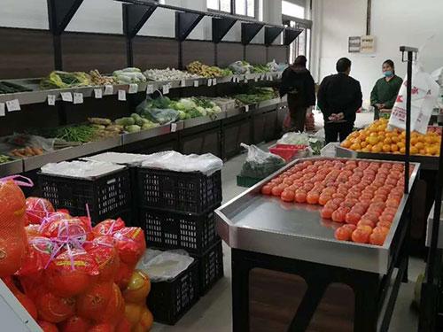 蔬菜货架生鲜货架
