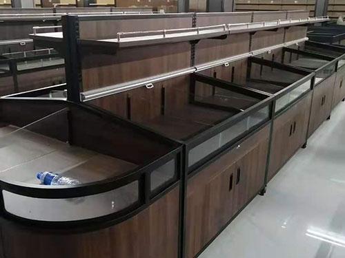 两层复古散货柜
