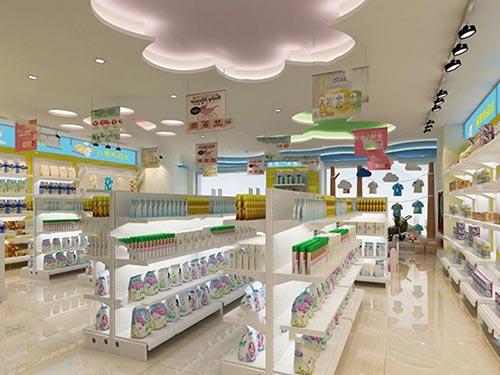 母婴店该如何进行商品陈列
