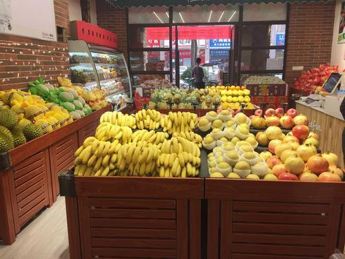 水果店货架