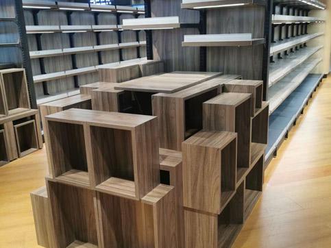 木制端头货架