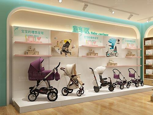 母婴店货架的商品放置小技巧