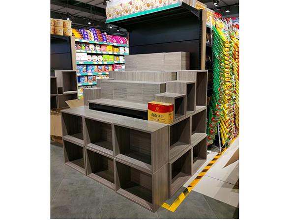 多层超市端头货架