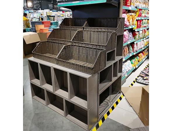 超市端头货架