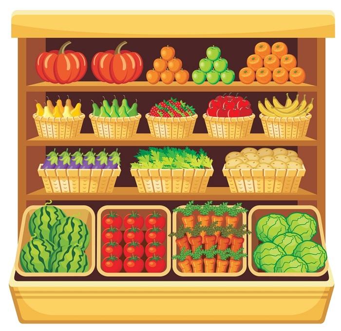 水果货架五种装修风格,让你的生意爆棚
