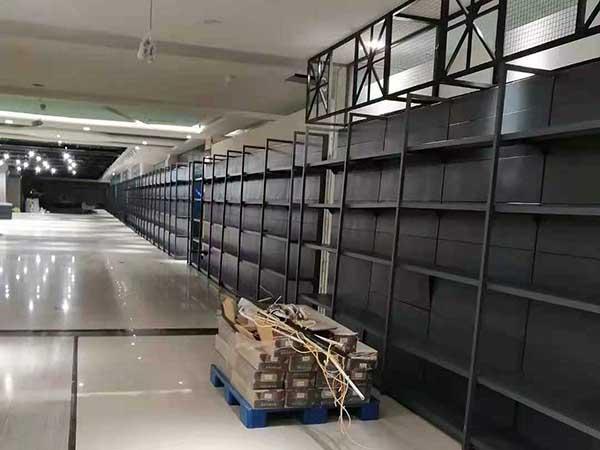钢制超市货架案例