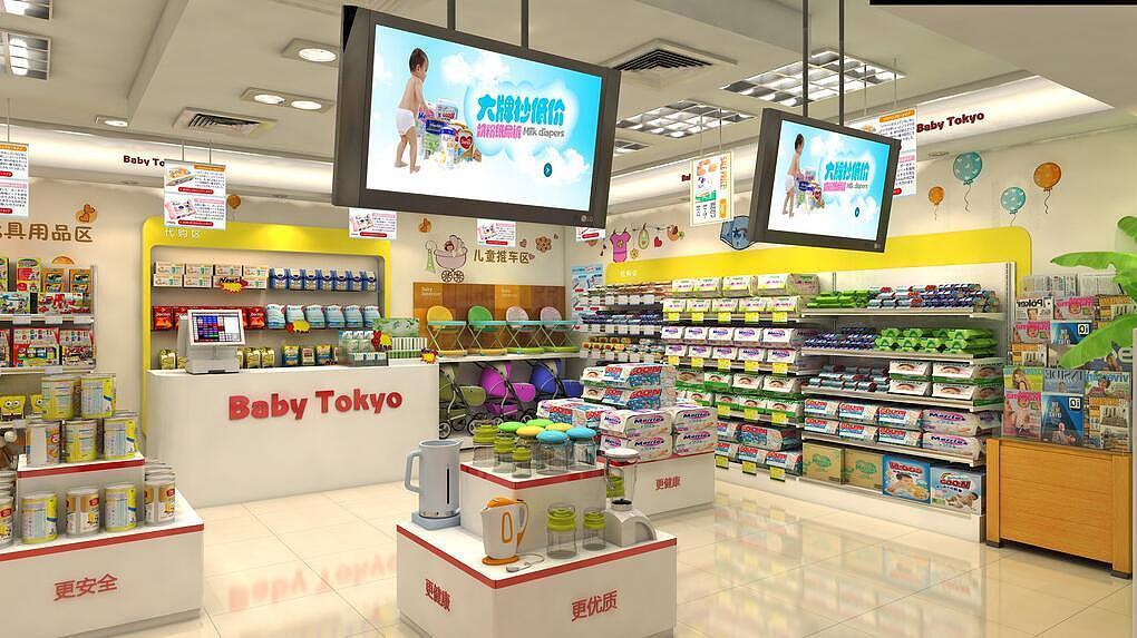 母婴店货架要怎样设计和安装