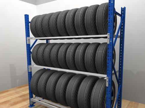 汽车轮胎货架