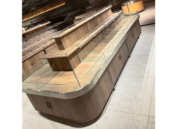 三层玻璃散货柜