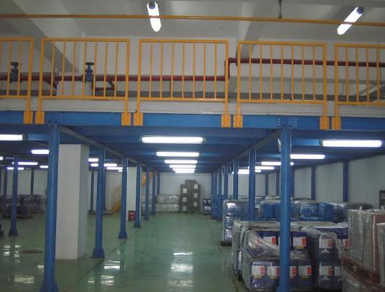 河南钢结构平台