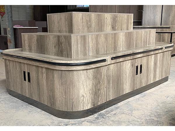 新款三层木质散货柜