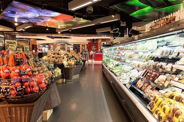 超市货架都是什么样的